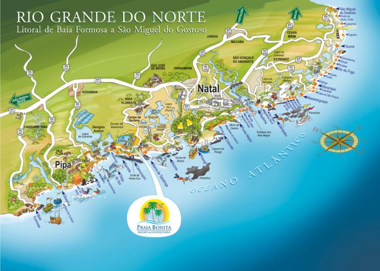 Mapa Nísia