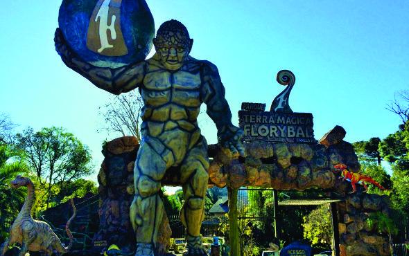 Parque Terra Mágica de Florybal em Canela – RS