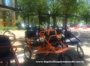 Triciclo no parque da CHESF