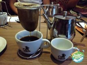 Café Coado do Café de Bule