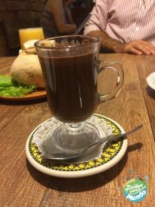 Chocolate quente Café de Bule
