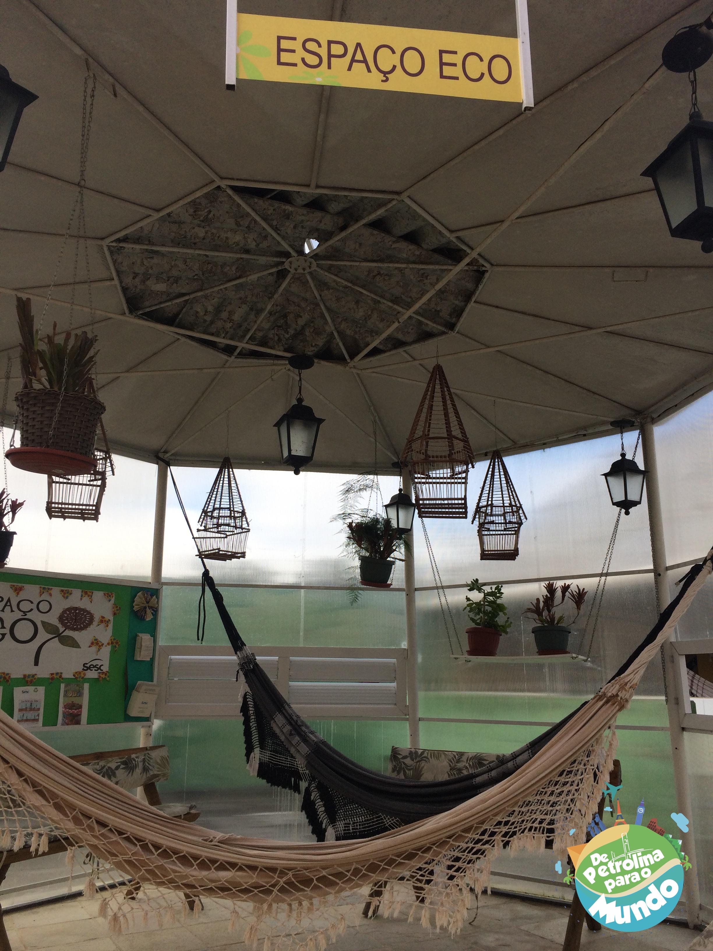 Espaço do Hotel do Sesc em Garanhuns