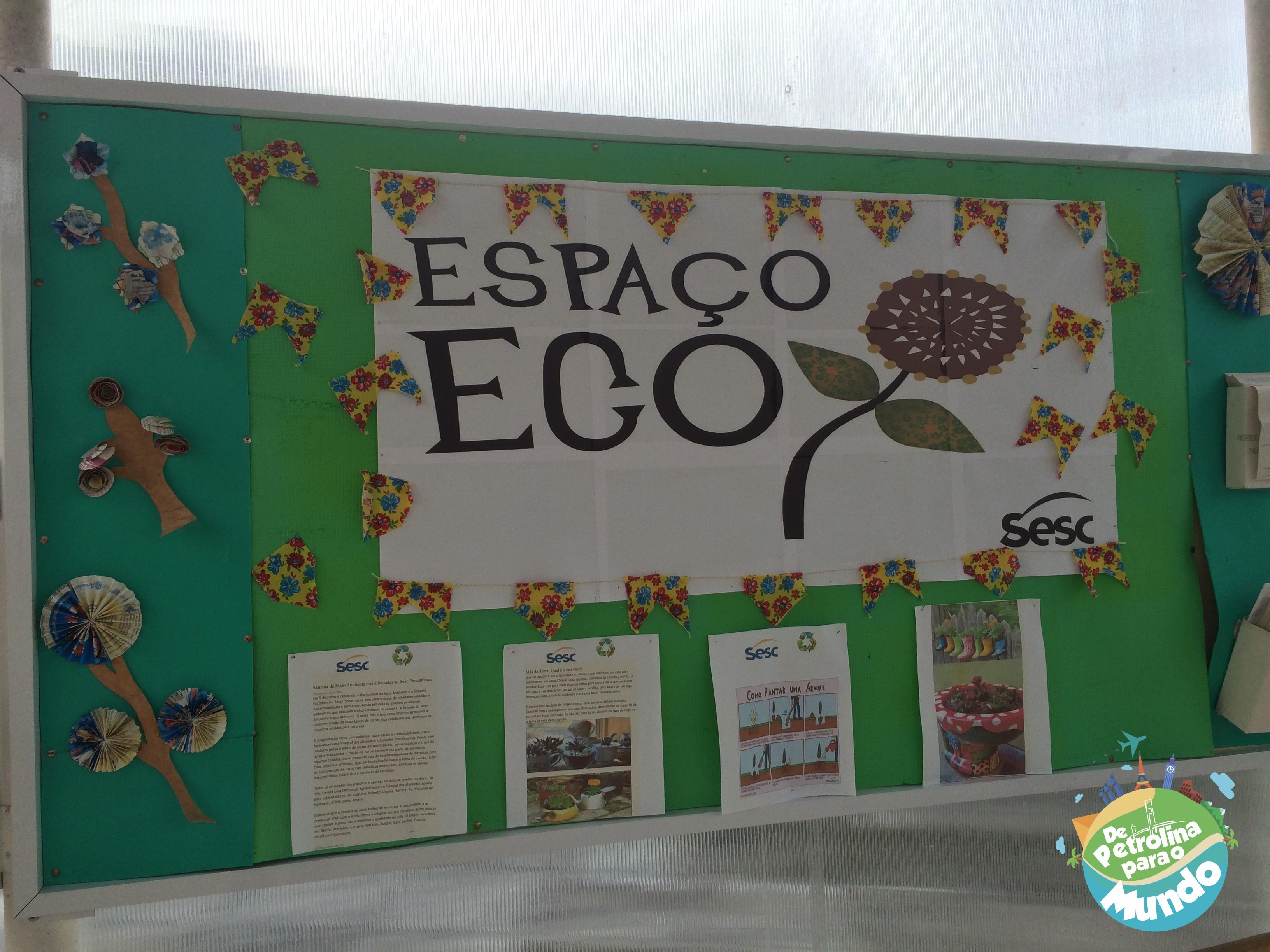 Espaço Eco do Hotel do Sesc em Garanhuns