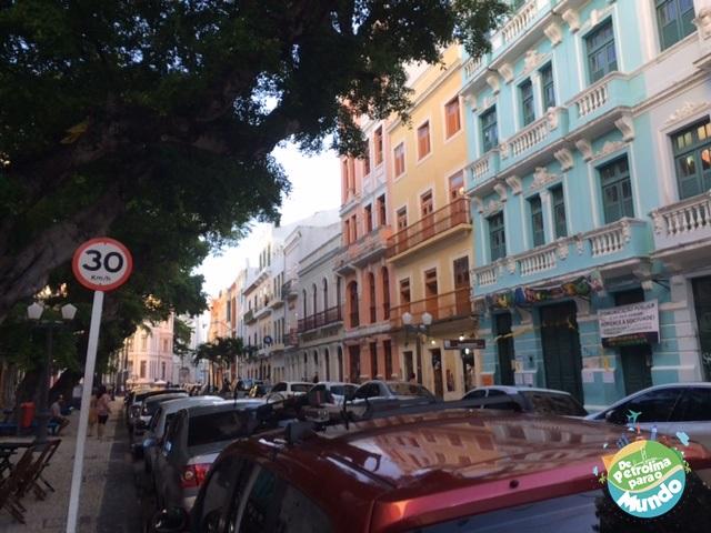 Rua do Bom Jesus no Recife Antigo - PE